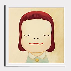 povoljno Trends-Uokvireno platno Uokvireni set - Ljudi Crtani film Plastika Ilustracija Wall Art
