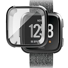 Недорогие Чехол для умных часов-Кейс для Назначение Fitbit Fitbit Versa Силикон Fitbit