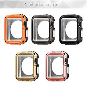 Недорогие Чехол для умных часов-Кейс для Назначение Apple Apple Watch Series 4/3/2/1 пластик Apple