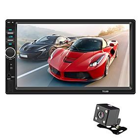 povoljno Novi dolasci u kolovozu-SWM 7018B+4LED camera 7 inch 2 Din Ostali OS Car MP5 Player Ekran na dodir / MP3 / Ugrađeni Bluetooth za Univerzális RCA / MicroUSB / Drugo podrška MPEG / MPG / WMV MP3 / WMA / ALAC JPEG / BMP / PNG