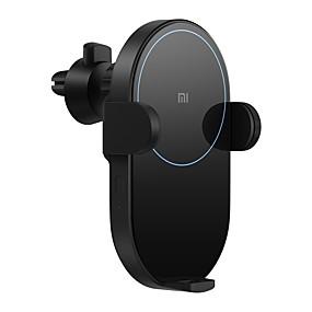 voordelige Telefoonhouders & Bevestigingen-originele xiaomi auto mount stand luchtuitlaat grille / dashboard automatische houder 20w qi draadloze snellader voor xiaomi mi 9 iphone 8 xr x xs max samsung galaxy s10 s9 intelligente infraroodsenso