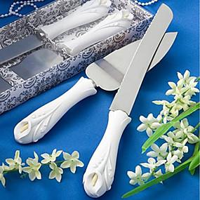 abordables Service de Table-Acier Inoxydable Mariage Boîte à cadeau Outils de cuisine