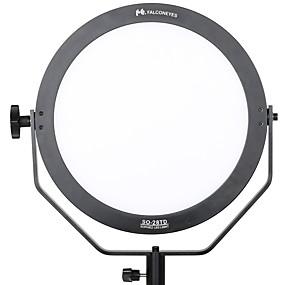 رخيصةأون إكسسوارات إضاءة الكاميرا والاستوديو-ضوء الفيديو سبائك الألومنيوم والمغنيسيوم قابلة لإعادة الشحن / القوة 110-220 V