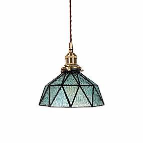 billige Hengelamper-OYLYW geometriske / Mini Anheng Lys Omgivelseslys Messing Malte Finishes Metall Glass Mini Stil, Nytt Design 110-120V / 220-240V