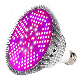 abordables Lampe de croissance LED-1pc 100 W Ampoule en croissance 6000-7000 lm E26 / E27 150 Perles LED SMD 5730 Spectre complet Blanc Rouge Bleu 85-265 V