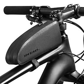 ROCKBROS Bolsa para Quadro de Bicicleta Prova-de-Água Portátil Á  Prova-de-Chuva Bolsa de Bicicleta TPU Náilon Bolsa de Bicicleta Bolsa de  Ciclismo Moto b7a5eb54a61