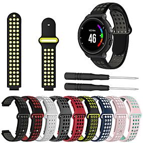 halpa Smartwatch-nauhat-Watch Band varten Approach S6 / Approach S5 / Approach S20 Garmin Urheiluhihna / Tee-se-itse työkalut Silikoni Rannehihna