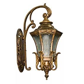 povoljno Vanjska zidna svjetla-QIHengZhaoMing LED / Suvremena suvremena Outdoor zidna rasvjeta Magazien / Cafenele / Ured Metal zidna svjetiljka 110-120V / 220-240V 5 W