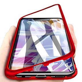 billige Telefoner og tilbehør-Etui Til Huawei Huawei Mate 20 lite / Huawei Mate 20 pro / Huawei Mate 20 Magnetisk Heldekkende etui Ensfarget Hard Herdet glass