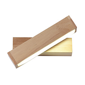 cheap Wall Lights-JSGYlights Mini Style LED / Modern Contemporary Wall Lamps & Sconces Living Room / Bedroom Wood / Bamboo Wall Light 85-265V 10 W