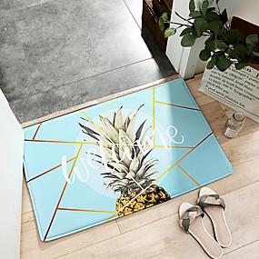 voordelige Matten & Tapijten-1pc Informeel / Modern Badmatten / Badtapijten Ander leertype Geometrisch / Nieuwigheid Anti-slip / Nieuw Design / verdikking