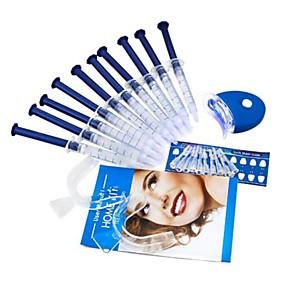 billige Munnhygiene-tennbleking kit bleking system lyse hvite smiler tennbleking gel kit med ledet lys profesjonell