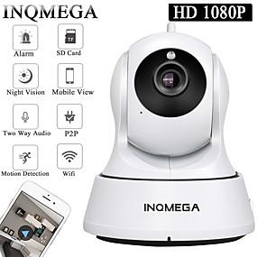 Недорогие IP-камеры для улицы-Облако inqmega 1080p 2.0mp PTZ IP-камера беспроводная автоматическая система слежения за домашней безопасностью камеры видеонаблюдения 3.6-миллиметровый объектив smart wifi