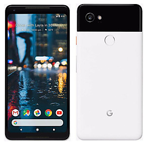 povoljno Refurbished iPhone-Google Pixel 2 XL 6 inch 64GB 4G Smartphone - Obnovljen(Obala / Crn) / Qualcomm Snapdragon 835 / 12