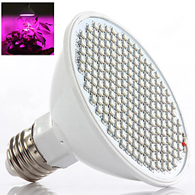 halpa LED-kasvatusvalot-1kpl 8 W 450 lm 200 LED-helmet Kasvava valaisin 85-265 V Kasvihuonekaasu