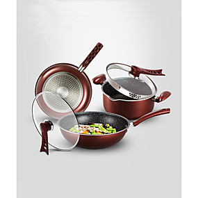 tanie Naczynia do gotowania-Zestawy do gotowania 3003 Stop Wielofunkcyjny Do domu