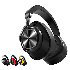 cheap Headphones & Earphones-Bluedio T6 Over-ear Headphone Wireless Travel & Entertainment Bluetooth 5.0 with Microphone