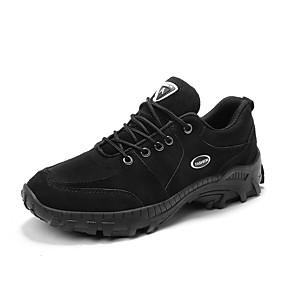 baratos Sapatos Esportivos Masculinos-Homens Sapatos Confortáveis Jeans Outono / Outono & inverno Esportivo / Casual Tênis Aventura / Caminhada Estampa Colorida Preto / Khaki