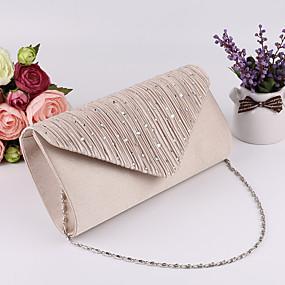 preiswerte Abendtasche-Damen Abendtasche Hochzeitstaschen Polyester Schwarz / Silber / Beige
