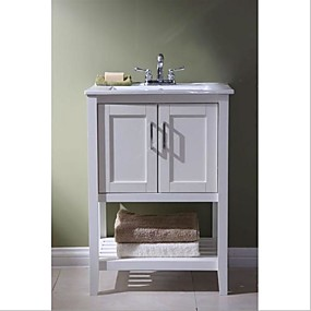 cheap Bathroom Furniture-Wood Modern Vanities Bathroom