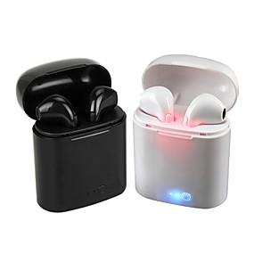 billige Hodetelefoner og hodetelefoner-litbest i7s-lx tws ekte trådløse hodetelefoner air earbuds bluetooth 5.0 trådløs sports håndfri mini øretelefoner airpods alternativer