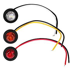 Недорогие Боковые габаритные огни-2шт автомобильные лампочки 1 Вт 80 лм светодиодные противотуманные фары / указатели поворота / боковые габаритные огни для универсальных двигателей общего назначения все годы