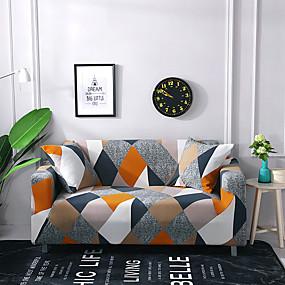 billige Varm salg-2019 ny floral print sofa deksel stretch sofa slipcover super mykt stoff av høy kvalitet sofa deksel