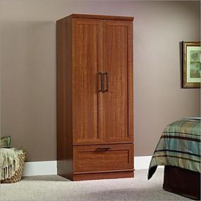 cheap Bedroom Furniture-Sienna Oak Wardrobe Clothes Storage Cabinet Armoire