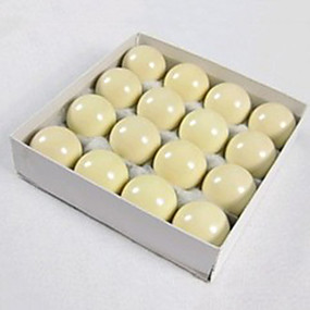 baratos Bilhar & Sinuca-Bolas de bilhar Resina Sinuca Standard 1 Pça. 52,5 Durável