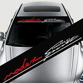 povoljno Vanjska oprema-šarene reflektirajuća dekoracija naljepnice auto naljepnice styling prednje vjetrobranske naljepnice
