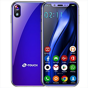 """voordelige Mobiele telefoons-K-Touch K-touch I9 3.5 inch(es) """" 4G-smartphone ( 2GB + 16GB 8 mp / Zaklantaarn MediaTek MT6737T 1800 mAh mAh )"""
