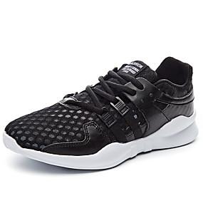 baratos Sapatos Esportivos Femininos-Mulheres Tênis Sem Salto Ponta Redonda Com Transparência Verão Branco / Preto