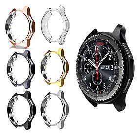 Недорогие Чехол для умных часов-gear s3 samsung galaxy watch 46mm 42mm case reloj tpu покрыло круговой корпус