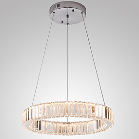 povoljno Lámpatestek-vodio kristal Privjesak svjetla strop rasvjeta čvora dimmable svjetiljka moderne kuće dekor umjetnost privjesak lusteri ovjes visi svjetlo 110-120v / 220-240v \ t