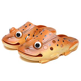 povoljno Cipele i torbe-Dječaci / Djevojčice Guma Papuče i japanke Dijete (9m-4ys) / Mala djeca (4-7s) Inovativne cipele Cipele za vodu Pletena ljetna obuca Zlato / Bijela / Zelen Ljeto / 3D