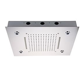 povoljno Slavine-kupaonica tuš glava tuš / nehrđajući čelik 304 / s LED svjetla / vodopad i mikser za kišu funkcije