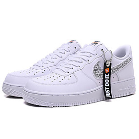 baratos Tênis Masculino-Homens Sapatos Confortáveis Sintéticos Primavera Verão Clássico Tênis Caminhada Branco / Prata / Atlético