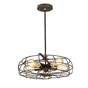 abordables Plafonniers-suspension industrielle lanterne suspension lumière ambiante finitions peintes métal nouveau design