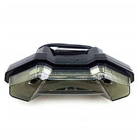billige Nyankomne i august-led baklys bremsesignal integrert ledlampe for yamaha mt-09 fz09 13-17