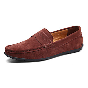cheap Men's Slip-ons & Loafers-Men's Comfort Shoes Pigskin Spring & Summer Casual Loafers & Slip-Ons Non-slipping Black / Green / Light Blue / Office & Career