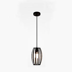 abordables Plafonniers-Géométrique Lampe suspendue Lumière dirigée vers le bas Plaqué Métal Créatif 110-120V / 220-240V