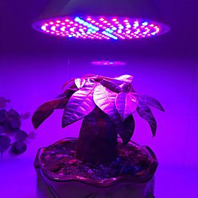 billige LED Økende Lamper-2 stk rød og blå lys samarbeidslampe fullt spektrum førte plantevekst belysning fyll lys grønnsak blomsterkrukke potte cannabis innendørs avl 15w ac85-265v