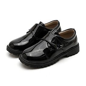 povoljno Kids' Oxfords-Dječaci PU Oksfordice Mala djeca (4-7s) Udobne cipele Crn Ljeto