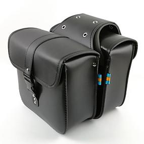 povoljno Novi dolasci u kolovozu-Oprema za motocikle ponovno montirajte bočnu prtljagu kožne tkanine jahaće torbe za bočne torbe