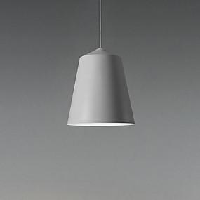 billige Hengelamper-pendellampe moderne enkel hengende lett jerntrådjusterbar taklys for spisesal / gang / korridor