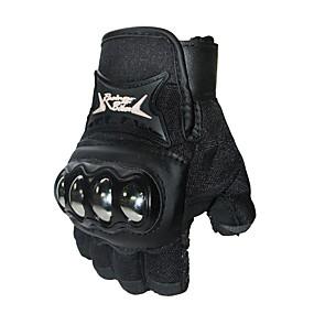 billige Nyankomne i august-profesjonell sykling halv fingerhansker sykkel ridning hånd beskyttelse votte