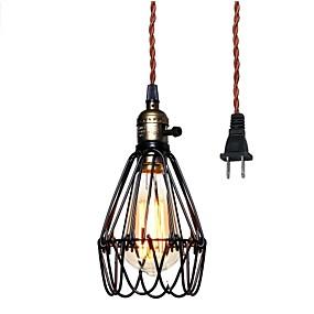 billige Hengelamper-Lanterne Anheng Lys Nedlys Malte Finishes Metall 110-120V / 220-240V
