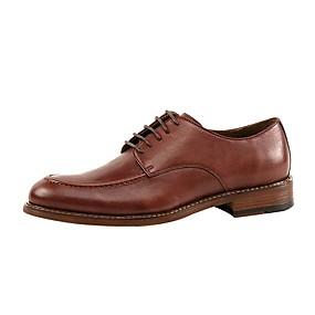 baratos Oxfords Masculinos-Homens Sapatos Confortáveis Couro Verão Oxfords Preto / Vinho