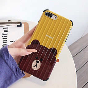 cheap Cool & Fashion Cases for iPhone-Case For Apple iPhone XS / iPhone XR / iPhone XS Max Shockproof / Dustproof / IMD Back Cover Animal / Cartoon PC