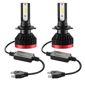 abordables 70%OFF-2pcs mini phare de voiture led ampoule h7 phare de voiture h7 100w 20000lm 6000k